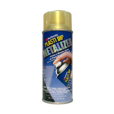 Plasti Dip ® USA Original - METALIZER gold (Enh.) - Spray
