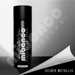 mibenco Spray - silber-metallic - 400ml