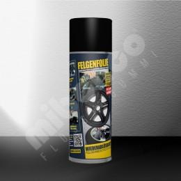 Felgenfolie Spray - schwarz glänzend - Einzeldose
