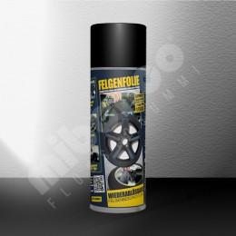 Felgenfolie Spray - schwarz matt - Einzeldose