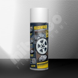 Felgenfolie Spray - weiss matt - Einzeldose